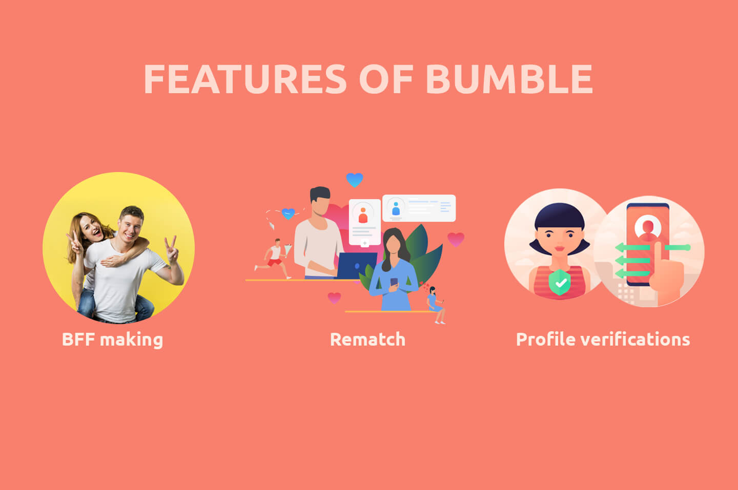Features of bumble