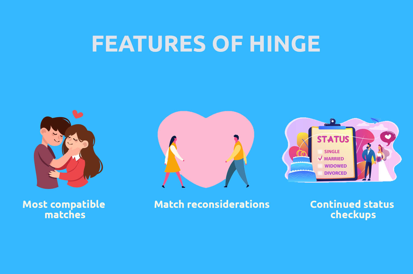 Features of hinge