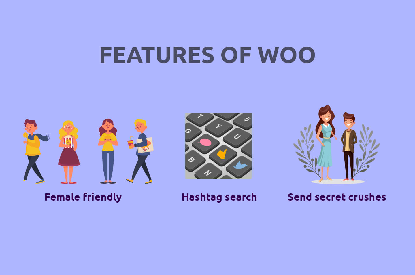 Features of woo