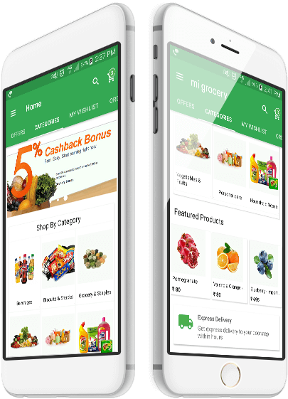 grocery app development company india best grocery store delivery